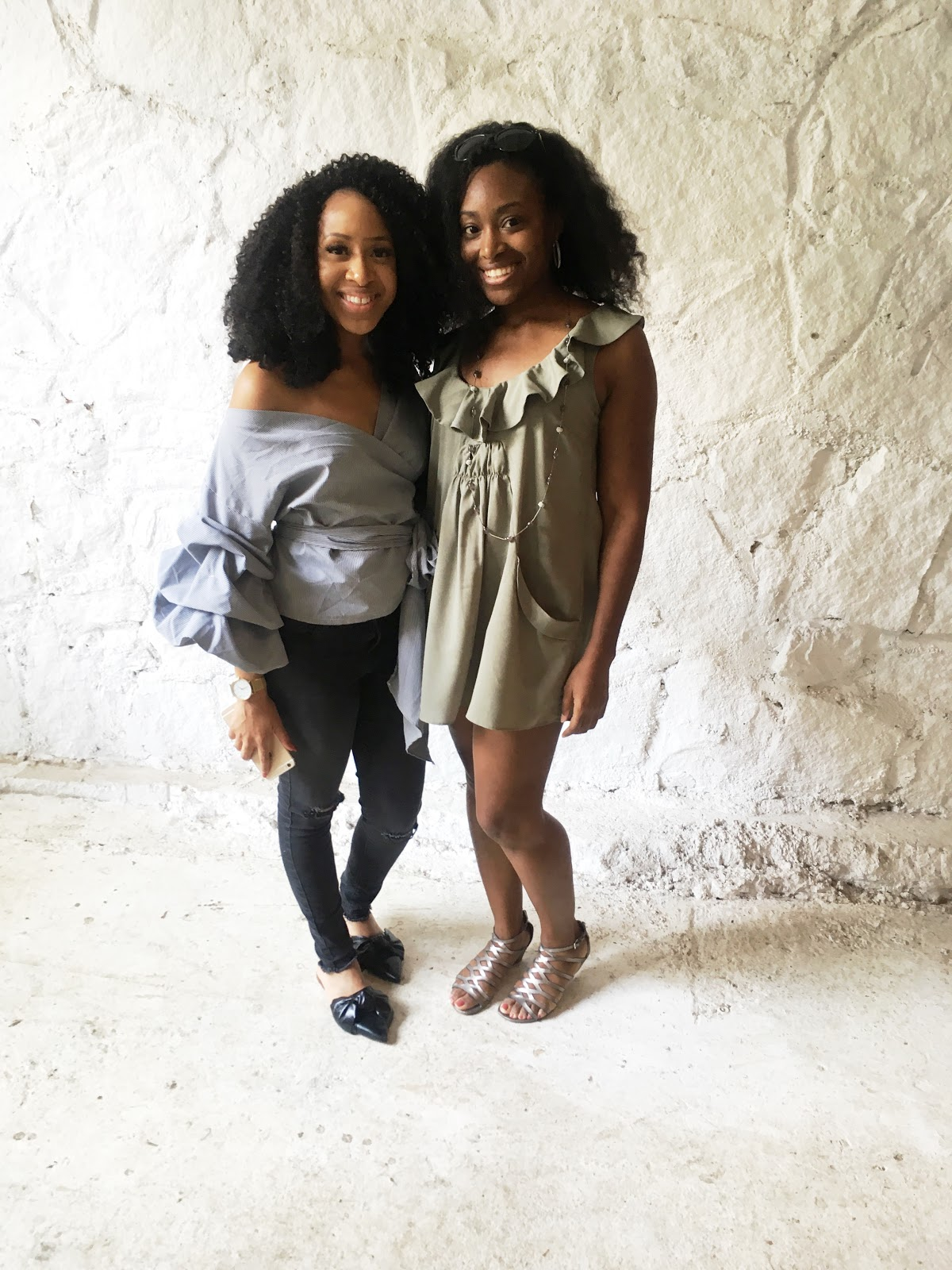 Mattieologie and Kizzy Kingston at blogSPACE Atlanta
