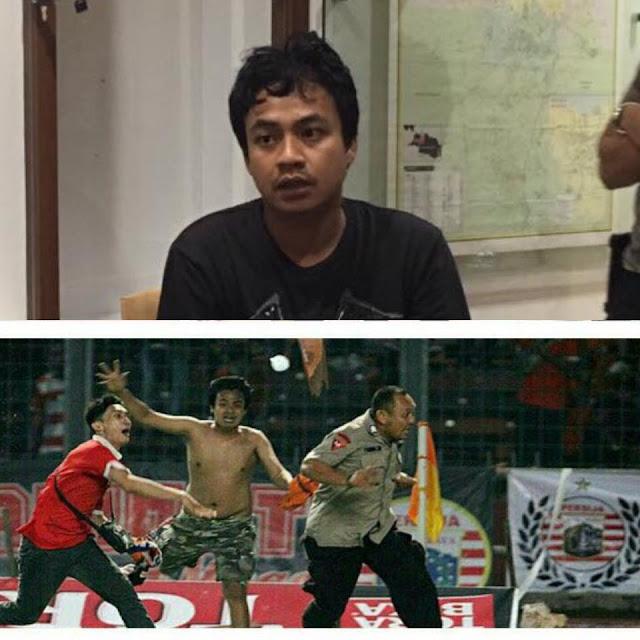 Kombes Krisna Murti Merilis Foto Supporter Persija Yang Menjadi Otak Kericuhan Di Stadion GBK