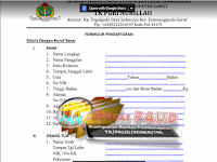 Download Contoh Berkas Formulir Pendaftaran Peserta Didik Baru TK PAUD | berkas-paud.blogspot.com