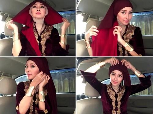 jilbab turban instan terbaru 2016