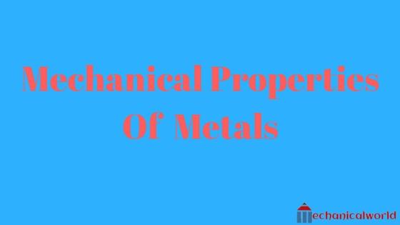 Mechanical Properties Of Metals  Engineering Properties  Physics Properties