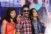 Haranath Policherla Mounika Nishi Ganda Pos at Tick Tock Telugu Movie Trailer Launch Event  0047.jpg