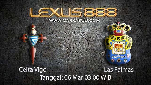 BOLA 88 - PREDIKSI TARUHAN BOLA CELTA VIGO VS LAS PALMAS 6 MARET 2018 ( SPANISH LA LIGA )