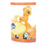 My Little Pony Molded Mane Pony Singles Applejack Brushable Pony