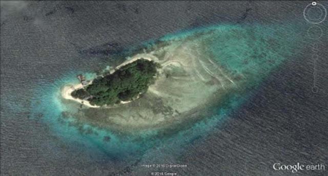 Pulau Gatenae di Kepulauan Joronga