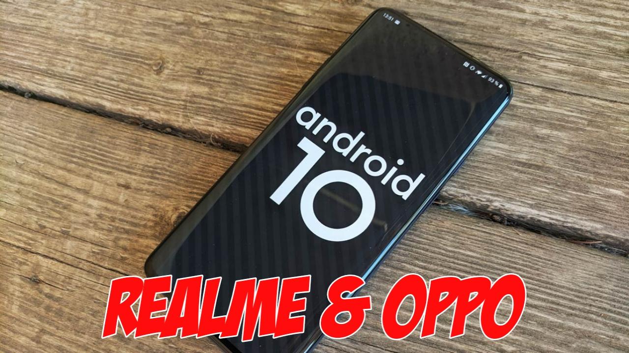 Tema Android 10 untuk Realme dan OPPO