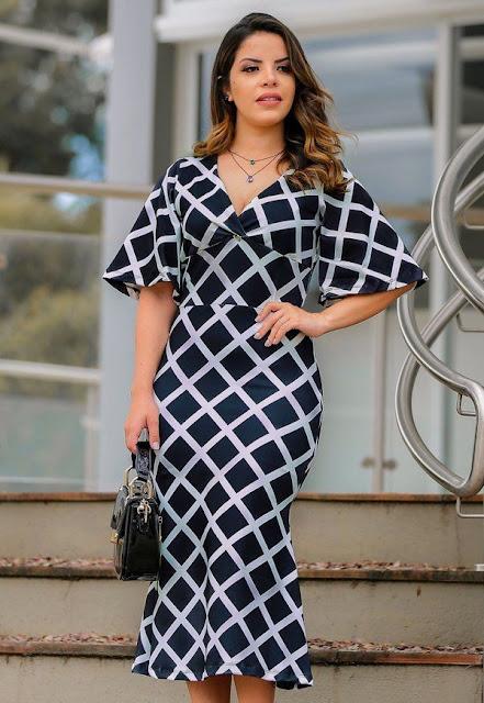 vestido tubinho-moda evangélica- loja flor de amêndoa