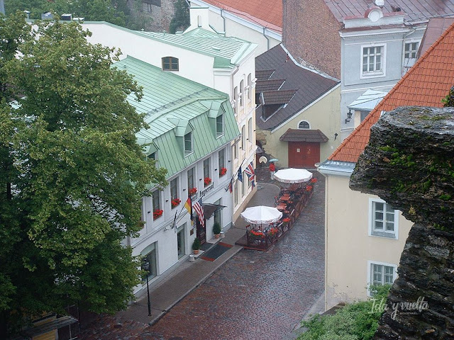 Tallinn razones para viajar vistas desde lo alto