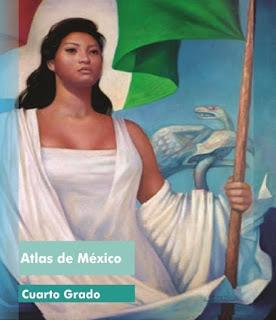 Libro de Texto Atlas de México Cuarto Grado Ciclo Escolar 2016-2017