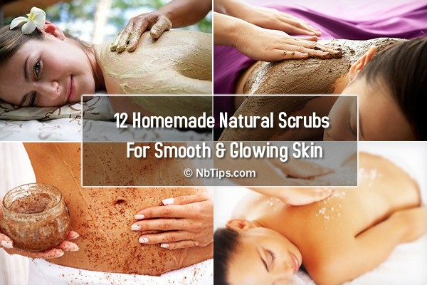 12 Homemade Scrubs For Smooth and Glowing Skin