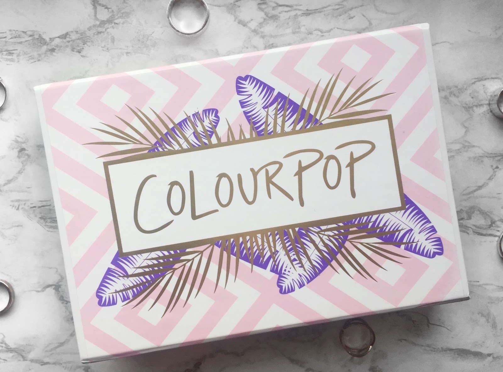Colourpop Mile High Eyeshadow Set Packaging