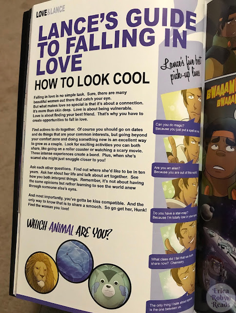 Lance's Guide to Falling In Love from Voltron Legendary Defender Vol. 2: Pilgrimage