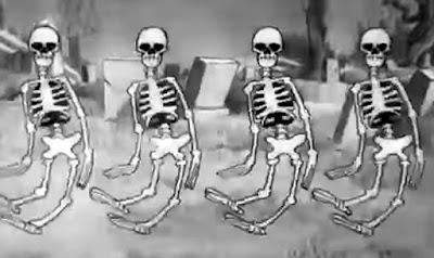 danza esqueletos halloween