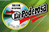 Radio La Poderosa 106.1 fm Espinar en vivo