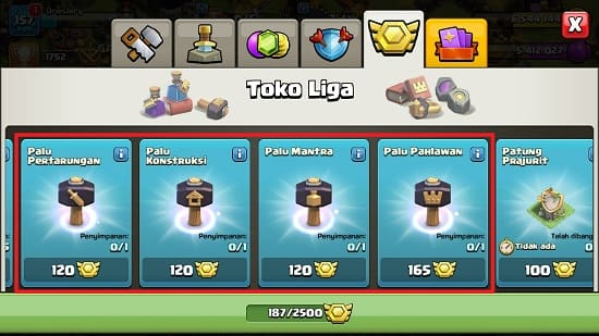Keuntungan Mengikuti War Liga di Clash of Clans (Instant Upgrade)