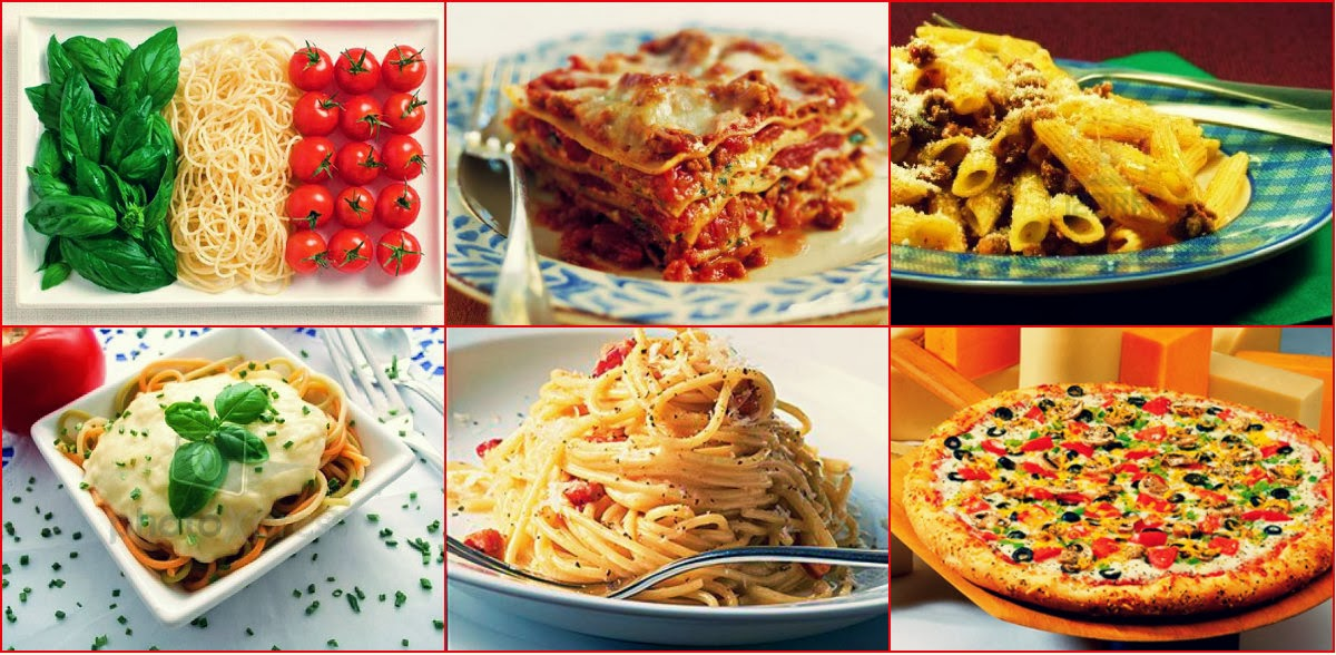 Cocina europea y asiatica Italia 1