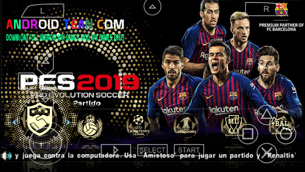 PES 2018-19 PPSSPP [Update New Game]