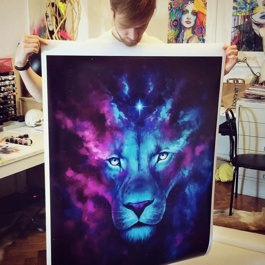 11-Space-Lion-Jonas-Jödicke-Digital-Art-www-designstack-co
