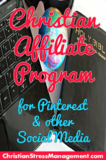 Christian affiliate program for Pinterest and other social media
