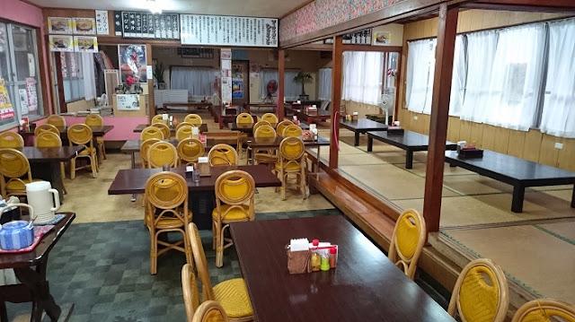 我部祖河食堂 本店の店内の写真