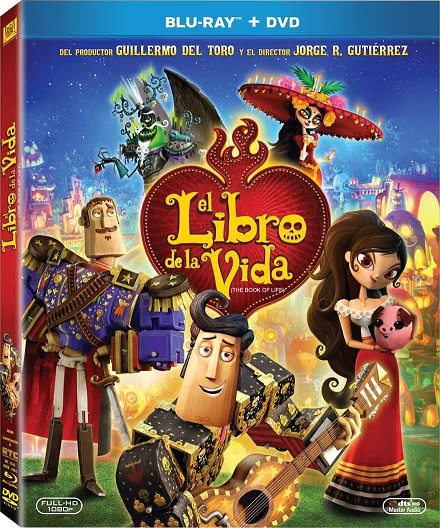 The Book of Life (El Libro de la Vida) (2014) m720p y m1080p BDRip mkv Dual Audio AC3 5.1 ch