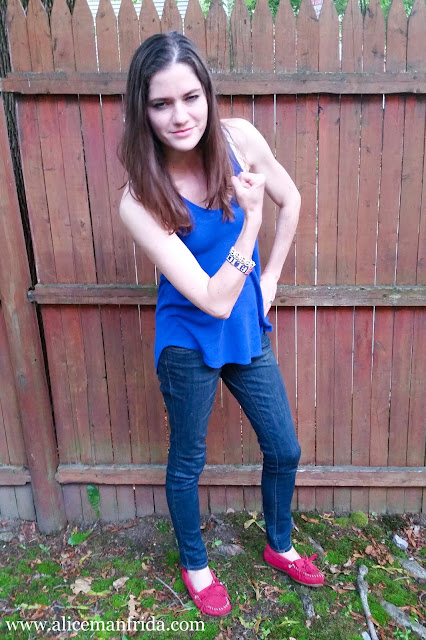 ootd, July 4, Fourth of July, red white and blue, summer