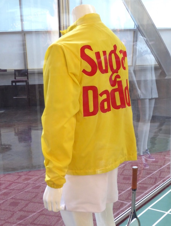 Battle of the Sexes Bobby Riggs Sugar Daddy jacket back