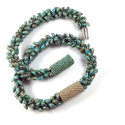 Peyote Stitch Sleeves with Miyuki Seed Beads Size 11