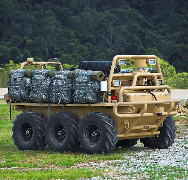Squad Multi-Purpose Equipment Transport