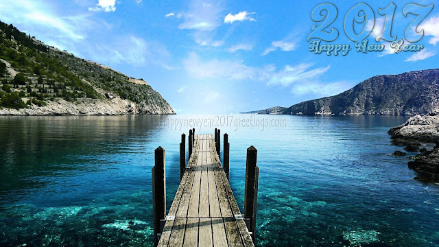 Happy New Year 2017 Full HD Beautiful Nature Background Wallpapers