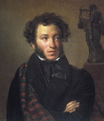 Alexander Pushkin by Orest Kiprensky