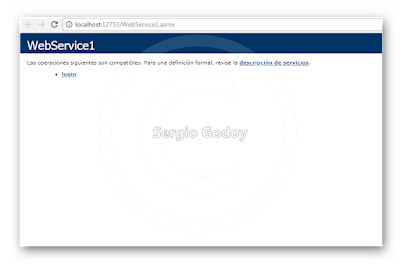Android Studio - WebService Visual Studio SQL Server
