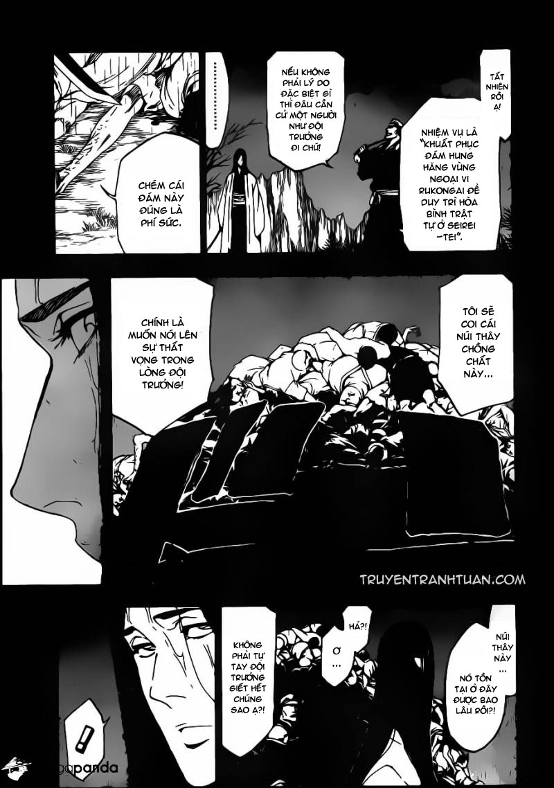 Bleach chapter 525 trang 8