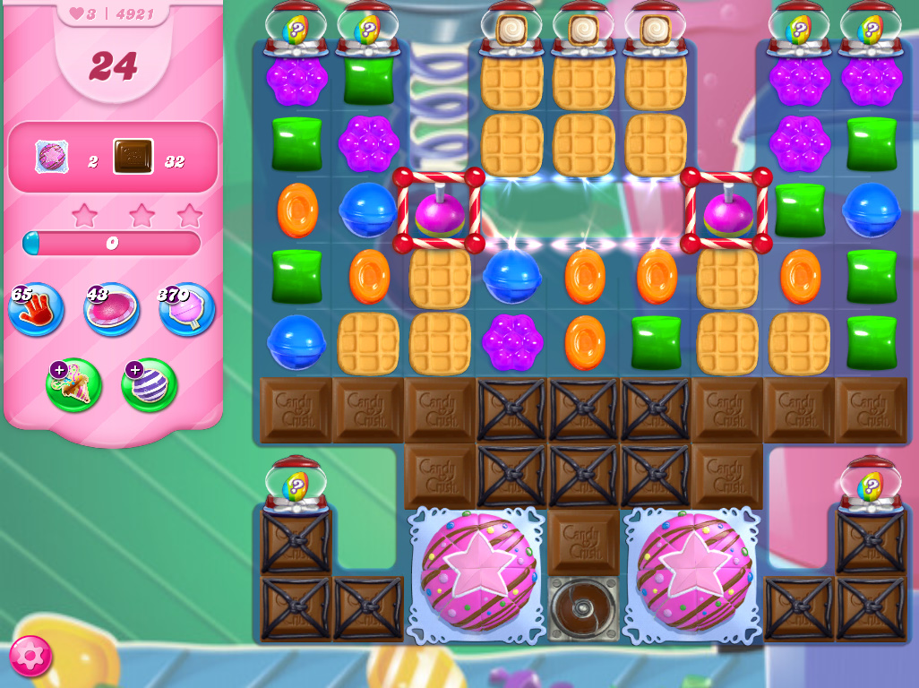 Candy Crush Saga level 4921