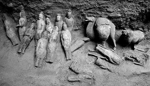 L'ancienne tombe d'une princesse et d'un général chinois mise au jour en Chine