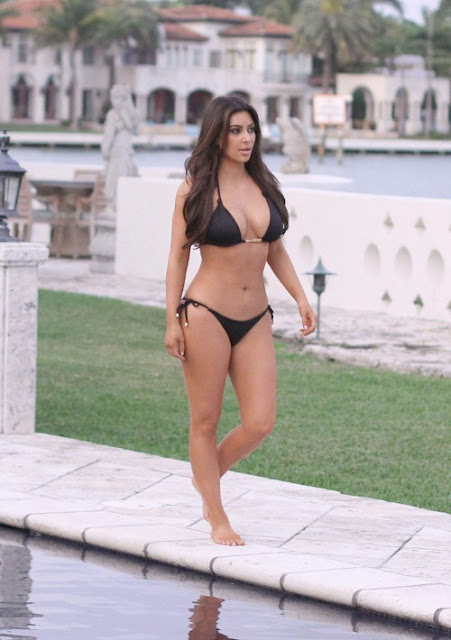 Kim Kardashian In Bikini