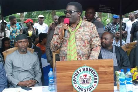Okorocha's Deputy Ready To Battle Him & His Son-in-law: