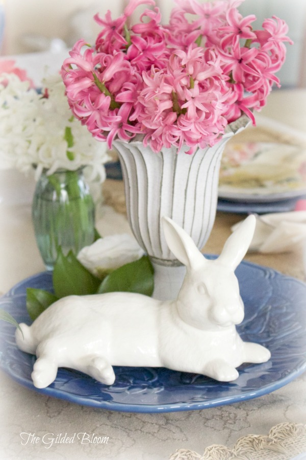 A Bunny Brunch Table
