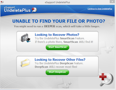 mengembalikan file yang hilang