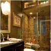 Emperador dark marble bathroom ideas so elegant and luxurious