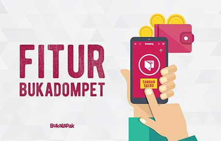 Cara Top Up Saldo BukaDompet via CIMB Clicks Bukalapak