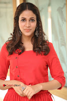 Actress Lavanya Tripathi Latest Pos in Red Dress at Radha Movie Success Meet .COM 0136.JPG