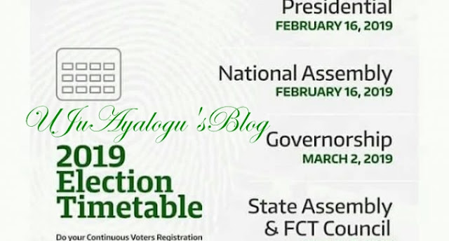2019 Election Timetable Is Out