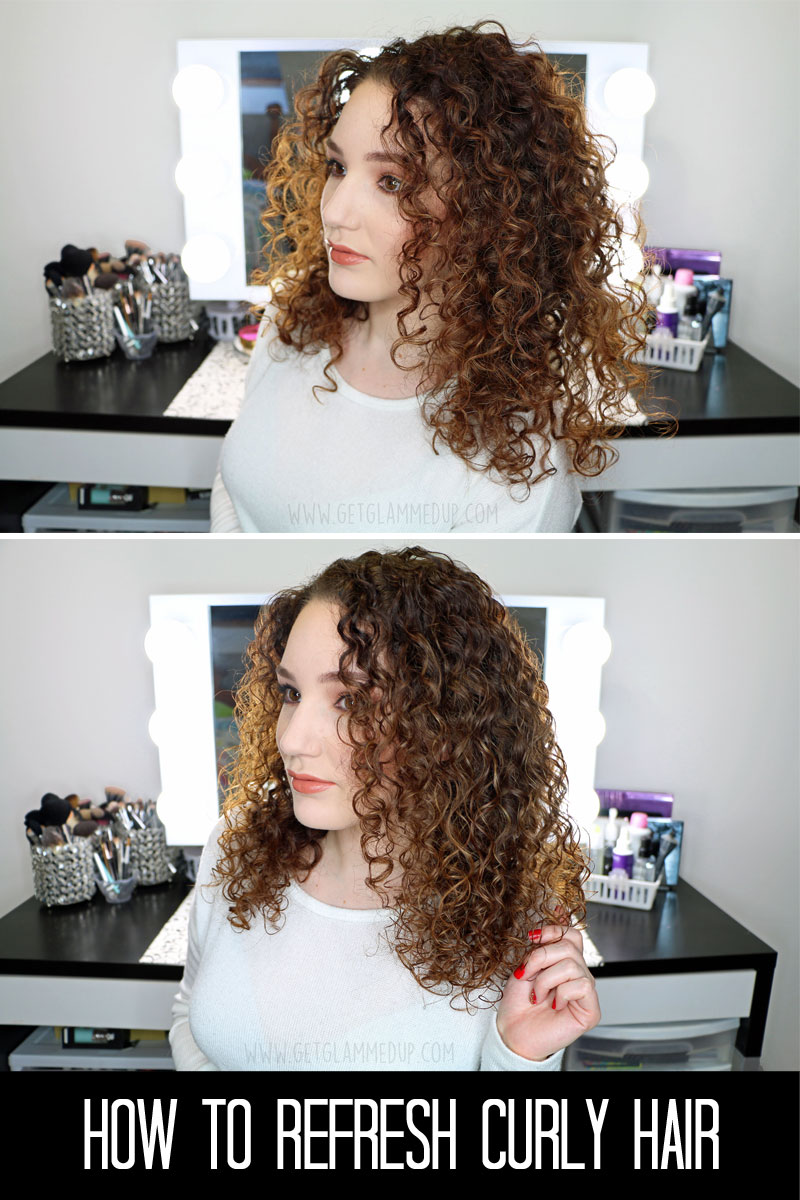 How to Refresh Naturally Curly Hair