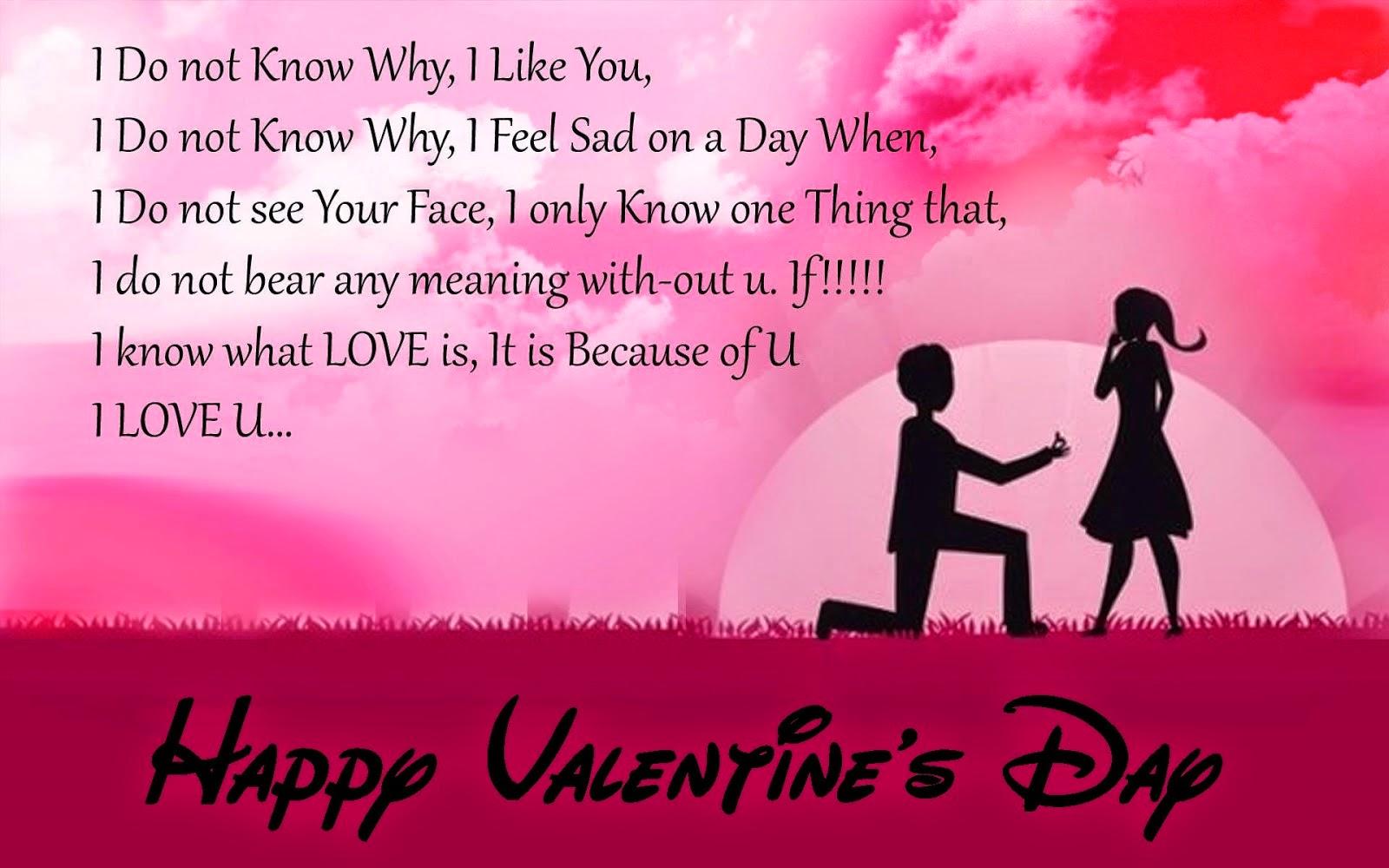Happy Valentines Day Greetings: