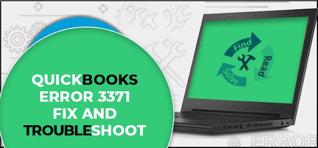 QuickBooks Error 3371 Fix and Troubleshoot