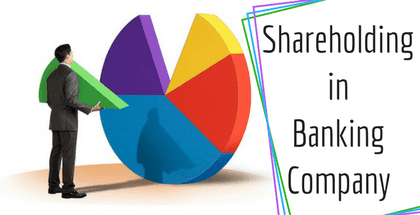 Shareholding in Banking Company