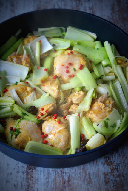 olej kokosowy,woj len,suszona śliwka,indyk,dania szybkie z mięsa,pory,dania z porami,dietetyczne jedzenie,skworcu (5)