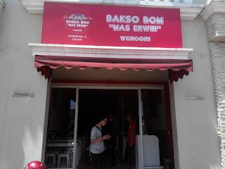 Bakso BOM Mas Erwin Cabang Ciputat