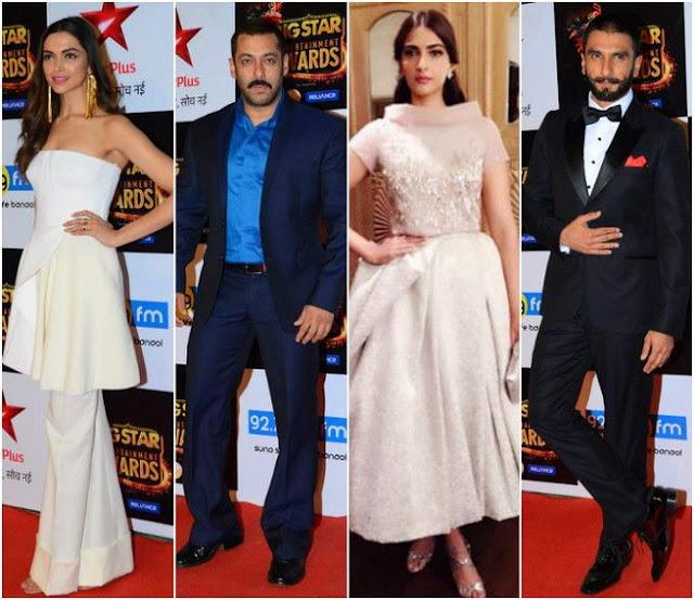 'BSEA 2015' Star Plus Award Show ,Winners List,Nomination,Timing,Pics
